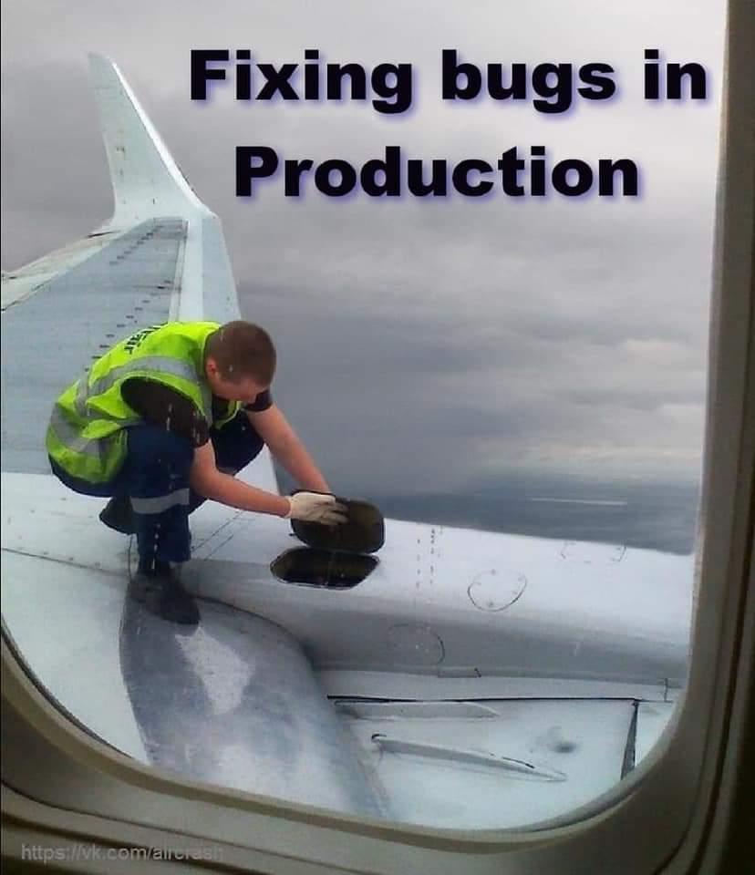 Arreglando errores en Producción