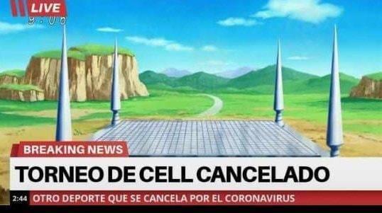 Eventos deportivos cancelados